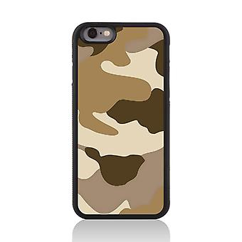 Call Candy Apple iPhone 7 Desert Camo 2D Printed Case-Shades of Brown