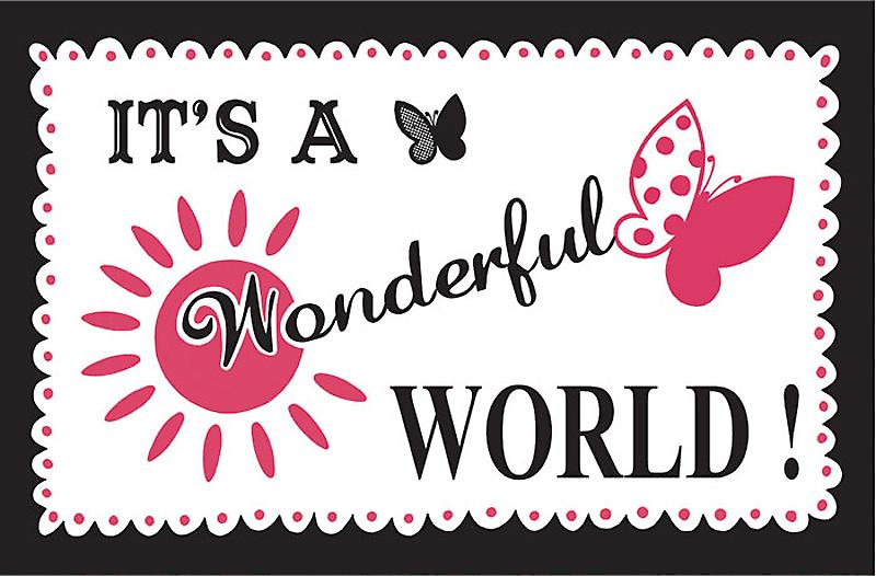 Its a Wonderful World Limited Edition Screen Print