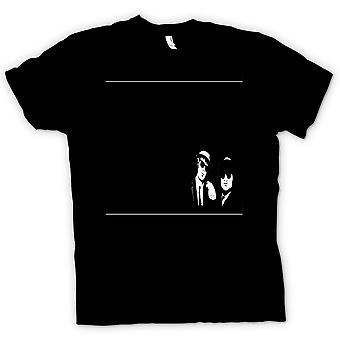 Mens T-shirt - Blues Brothers Black & White - Movie
