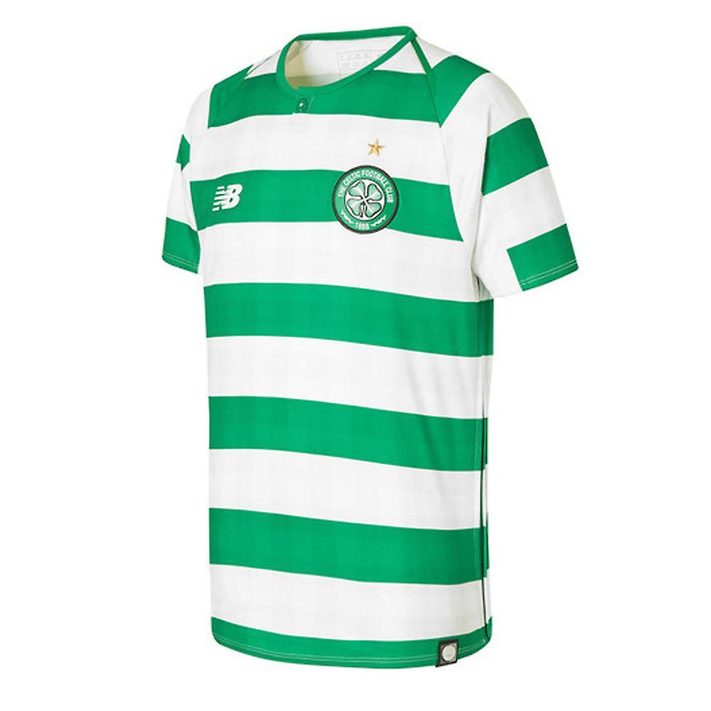 2018-2019 Celtic Home Football Shirt (Kids)