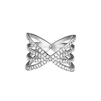 Esprit Damen Ring Silber JW52892 Zirkonia ESRG92679A1
