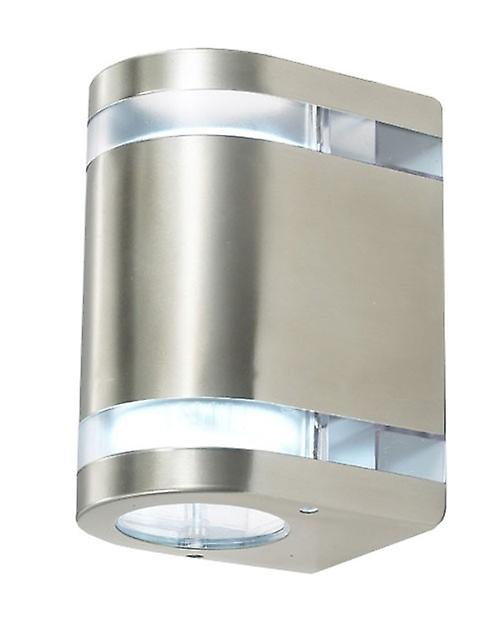 Wall lamp Amaru 2, 2-sash, quarter-round, LED, IP44, 10140