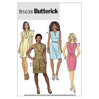 Misses'/Misses' Petite Dress and Belt-FF (16-18-20-22) -*SEWING PATTERN*