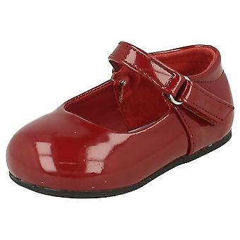 Girls Spot ON Velcro Party Shoes