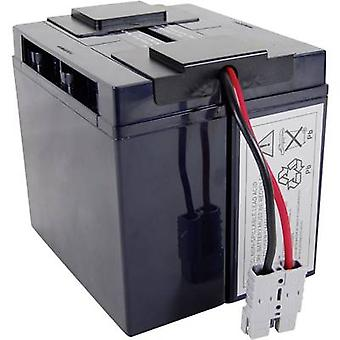 UPS battery Conrad energy replaces original battery RBC7 Suitable for model BP