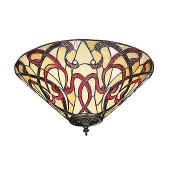 Lumière de Ruban 2 1900 intérieurs Flush plafond raccord en Art Nouvea