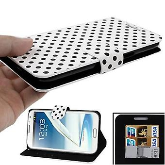 Protective case pouch for mobile Samsung Galaxy touch 2 N7100 white