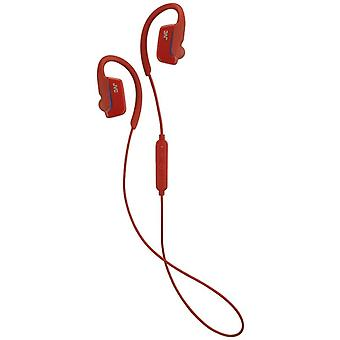 JVC HAEC30BTR AE Wireless Bluetooth Sports Clip Headphone Earphone - Red
