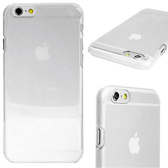 Snap-On cover for iPhone 6/6S thin Transparent Hard Case