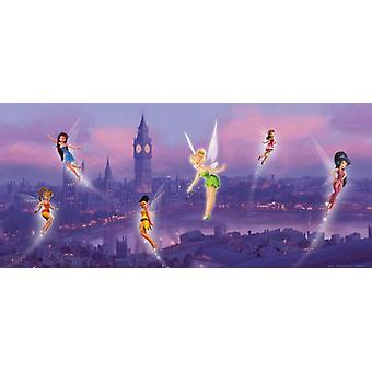 Horizontal wall decoration Disney Fairies in London