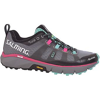 Salming Womens Trail 5 Sports Outdoor Training Shoes Trainers - Grey/Black