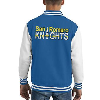 Lollipop Chainsaw San Romero Knights Kid's Varsity Jacket