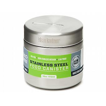 Klean Kanteen 473ml Single Wall Stainless Steel Food Canister (Brushed Stainless)