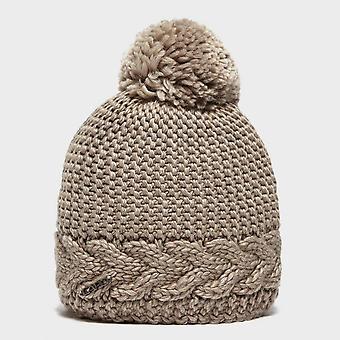 Ny Capo dame flora vintervandreture Bobble hat Bourgogne