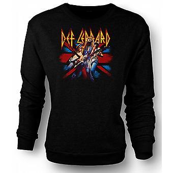 Mens Sweatshirt Def Leppard - britisk Rock