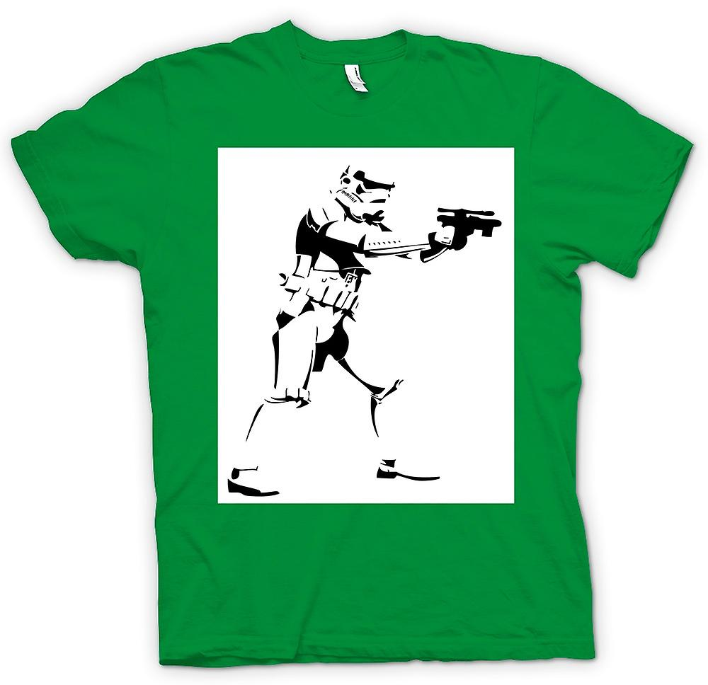 Hommes T-shirt - Star Wars - Storm Trooper - Pop Art