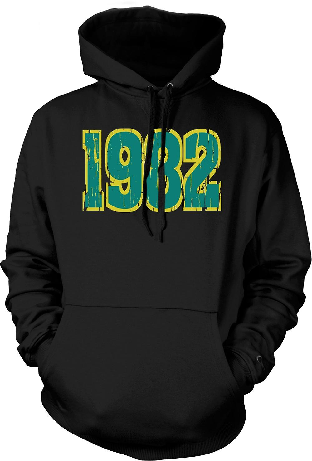 Mens Hoodie - 1982 - Quote