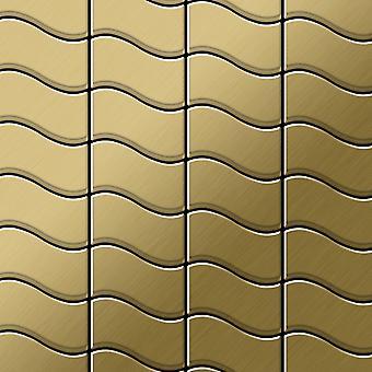 Mosaico de metal sólido Titanio ALLOY Flux-Ti-GB