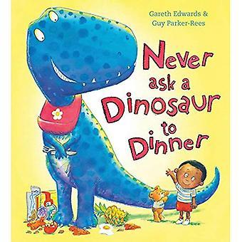 Nunca pedir un dinosaurio a cena