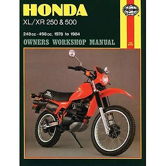 Honda XL/XR250 and 500 1978-84 Owner's Workshop Manual (Motorcycle Manuals)