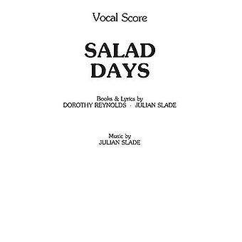 Sallad dagar (Sångnoter)