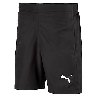 PUMA League sideline woven s Jr kids of black woven shorts
