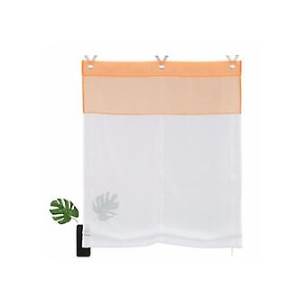 Home affaire collection curtain elegant Roman Shade White, Orange