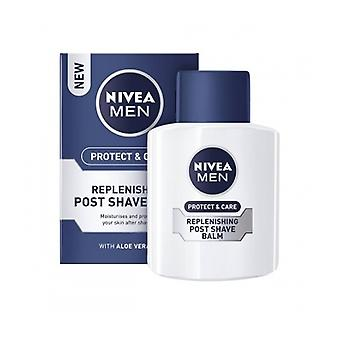 Nivea For Men A / raser réapprovisionnement baume 100Ml