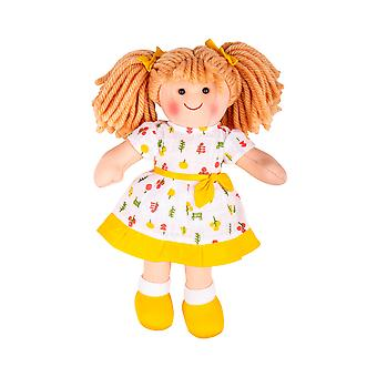 Bigjigs Toys Zoe 25cm Soft Rag Doll