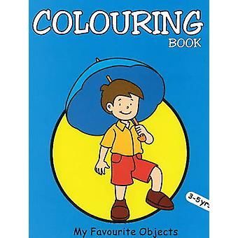 My Favourite Objects Colouring Book by Pegasus - 9788131904022 Book