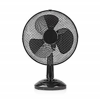 Bord ventilator 30 cm-sort