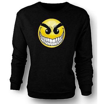 Kids Sweatshirt Smiley Face - Teeth - Acid House