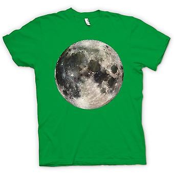 Womens T-shirt - Cool Moon Photo