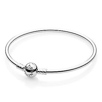 Pandora Moments Sterling Silver Charm Bangle 17CM - 590713-19