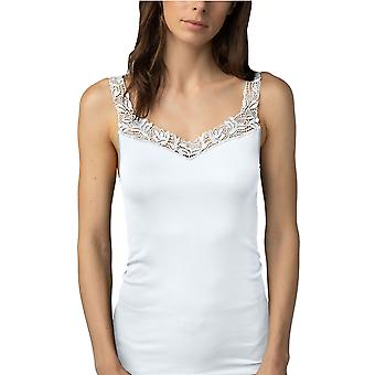 Mey Women 55362-1 Women's Emotion Elegance White Tank Vest Top