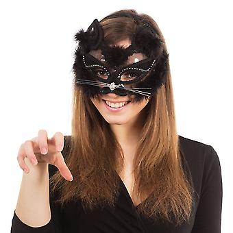 Bristol Novelty Unisex Adults Transparent Cat Mask