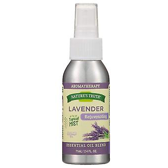 Nature's truth rejuvenating mist spray, lavender, 2.4 oz