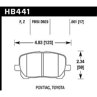 Hawk prestaties HB441F. 661 HPS