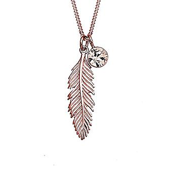Elli Women's Necklaces in Silver 925 with Crystal