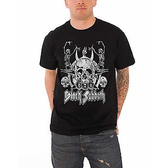 Black Sabbath T Shirt Black Dancing skeletons band logo Official  Mens