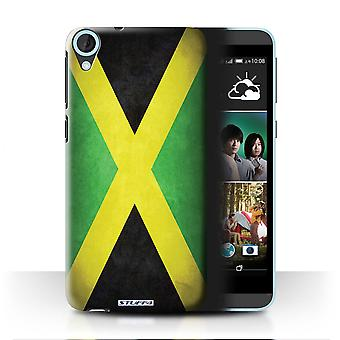 STUFF4 Case/Cover for HTC Desire 820q Dual/Jamaica/Jamaican/Flags