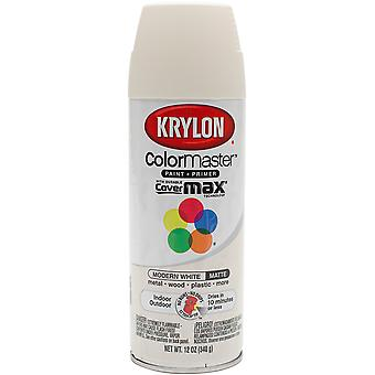 Colormaster Indoor/Outdoor Aerosol Paint 12oz-Modern White 1000A-53580