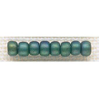 Mill Hill Glass Beads Size 6 0 4Mm 5.2 Grams Pkg Juniper Green Gbd6 16613