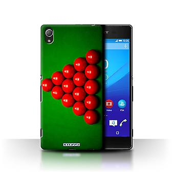 STUFF4 Case/Cover for Sony Xperia Z4/Red Ball/Rack/Snooker
