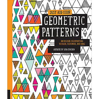 Rockport Books-Just Add Color - Geometric Patterns RKP-39451