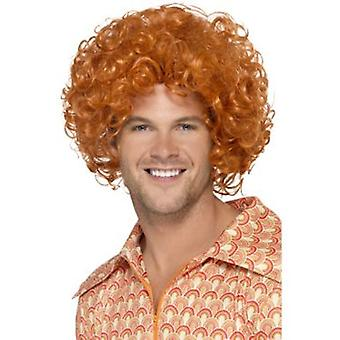Smiffys Curly Afro Wig Ginger (Kostüme)