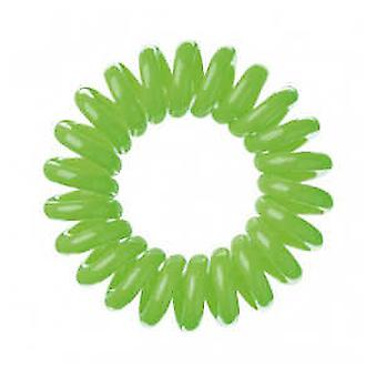 Bifull Invisible Green Coletero (Woman , Hair Care , Hair Accessories , Scrunchy)
