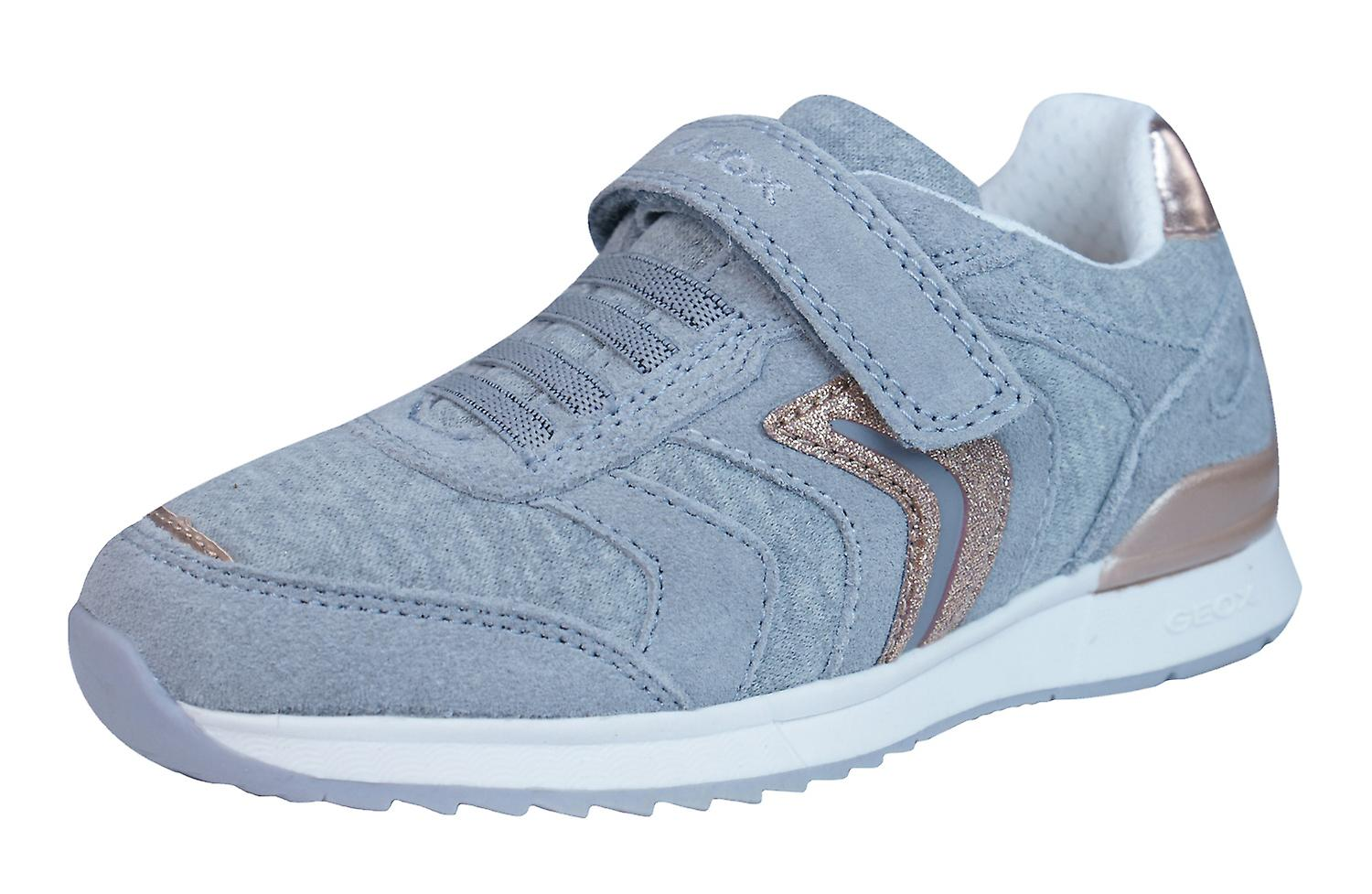 Geox J Maisie G - Girls Trainers / Shoes - G Grey a63742