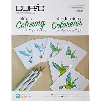 Copic Books-Intro To Coloring With Copic CB-INTRO