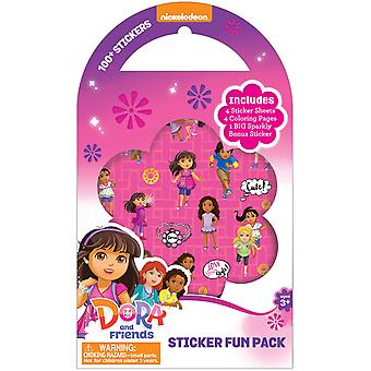 Nickelodeon Sticker Fun Pack-Dora And Friends 8530-5